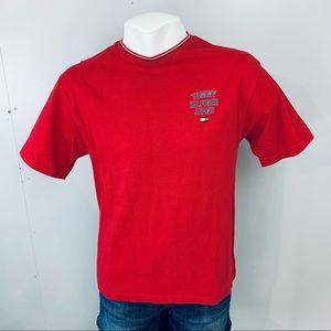 Vintage Tommy Hilfiger Jeans T-Shirt Flag Spell